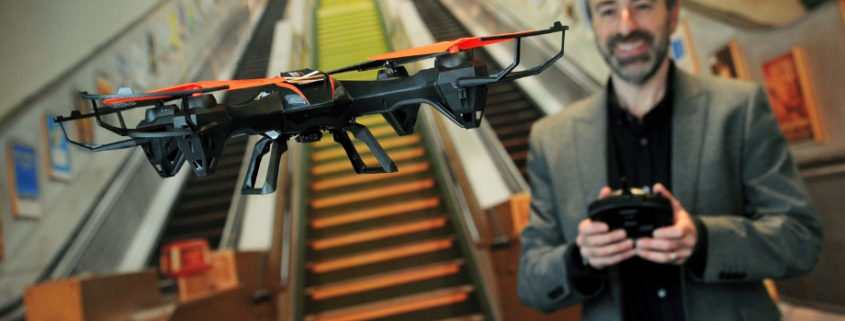Accountants using drones to complete audit work
