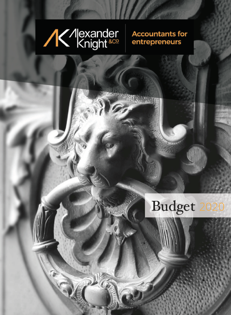 Download our summary of 'Budget 2020'
