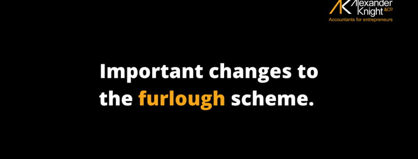 Changes to the furlough scheme for employers
